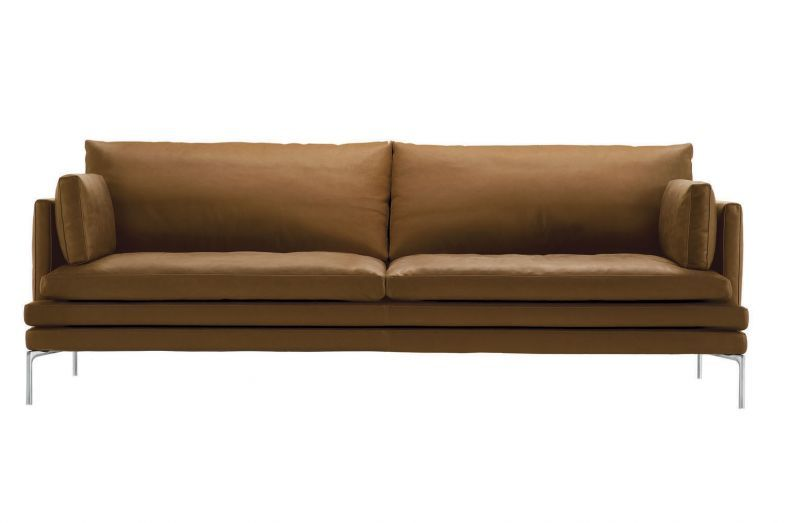 William 2 Seat Sofa in Fabric by Damian Williamson for