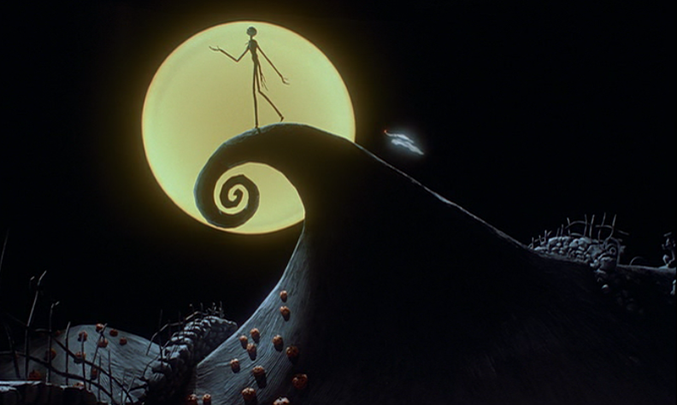 The Curly Hill In The Nightmare Before Christmas Nightmare Before Christmas Wallpaper Nightmare Before Christmas Nightmare Before Christmas Movie