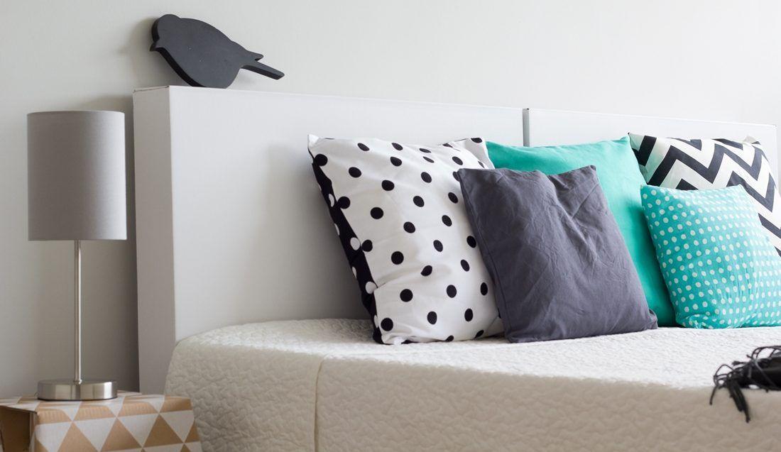Bed Van Karton : Slaapkamer met een bed van karton woning ingericht voor de