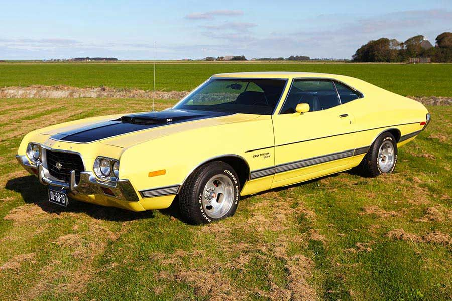 Wanna Buy A Ford Gran Torino Sport 1972 V8 351ci With Images Muscle Cars Ford Classic Cars Classic Cars