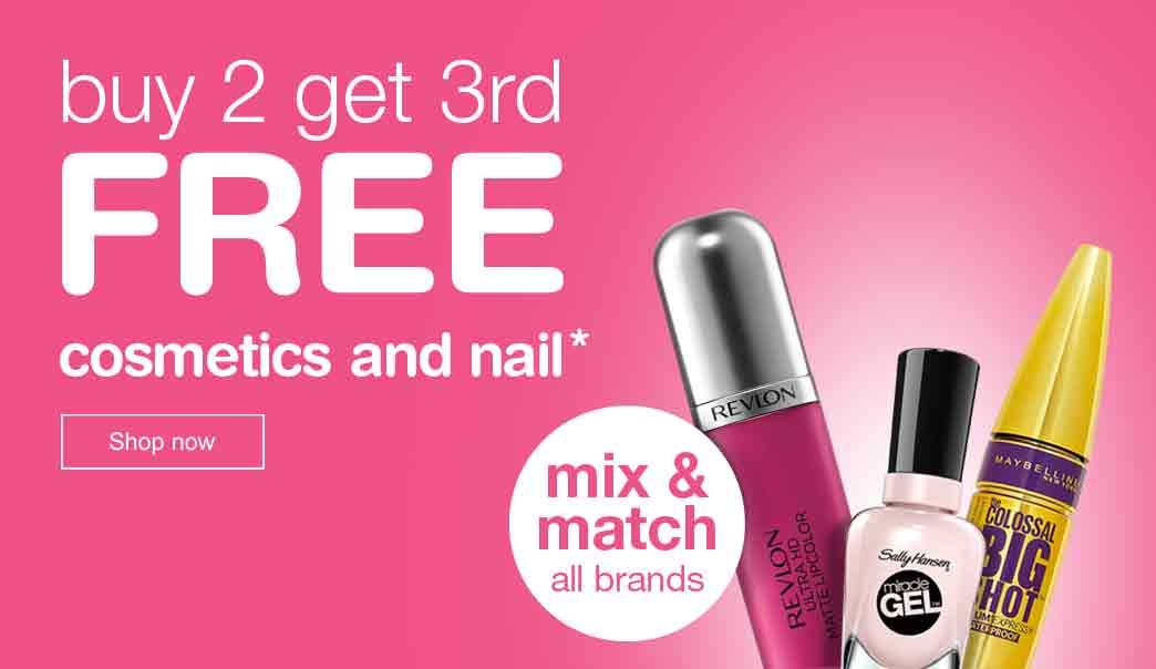 Georgine Saves Blog Archive Good Deal Walgreens Cosmetics Amp Nails Buy 2 Get 1 Free Free Cosmetics Cosmetics Stuff To Buy