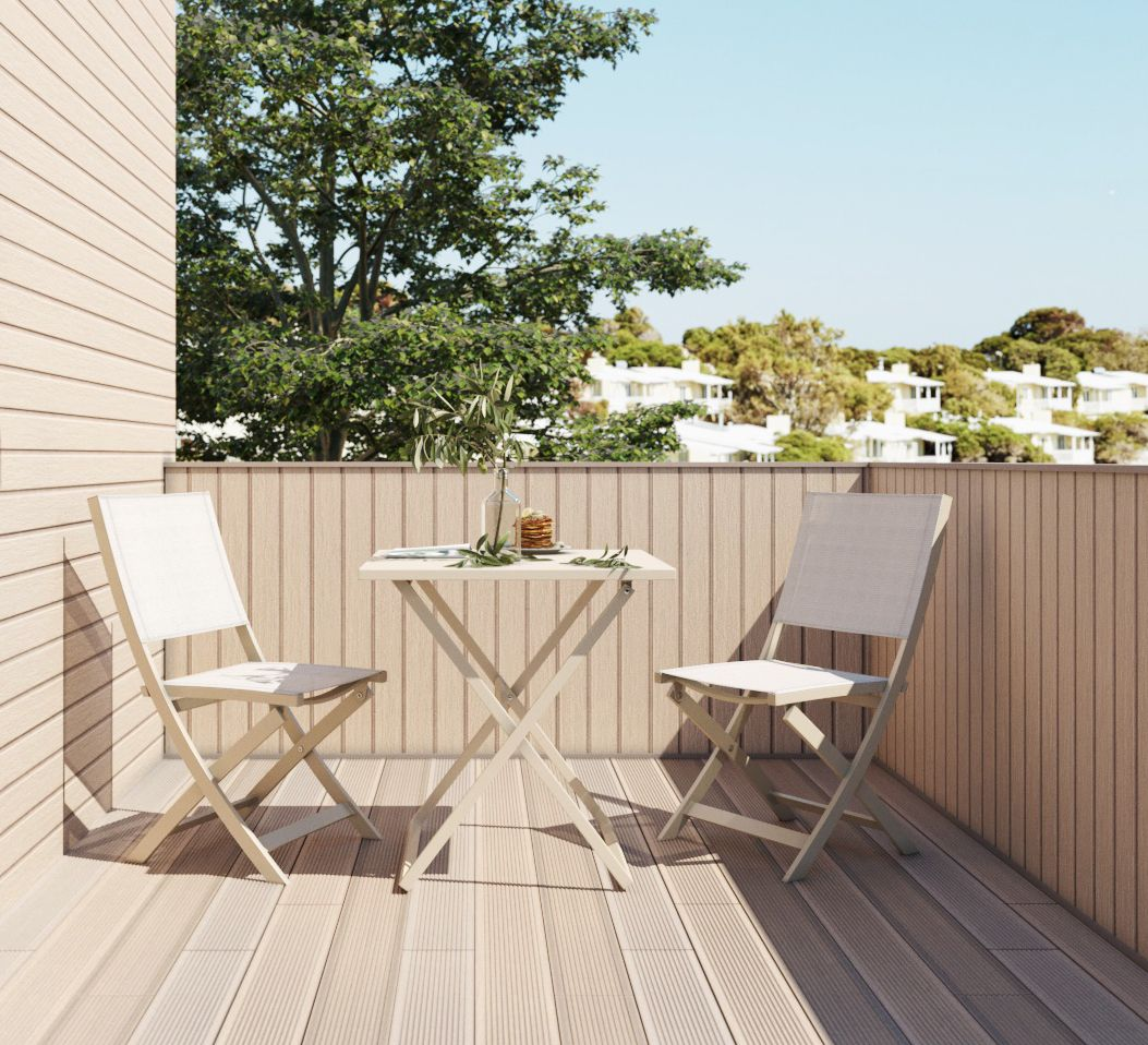 Get some sun wherever you want with the amarillo outdoor patio set great size to