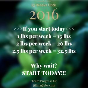 There is no perfect time to start...you have to create the perfect time! Decide, commit, succeed.  Where will you be in 13 weeks?
