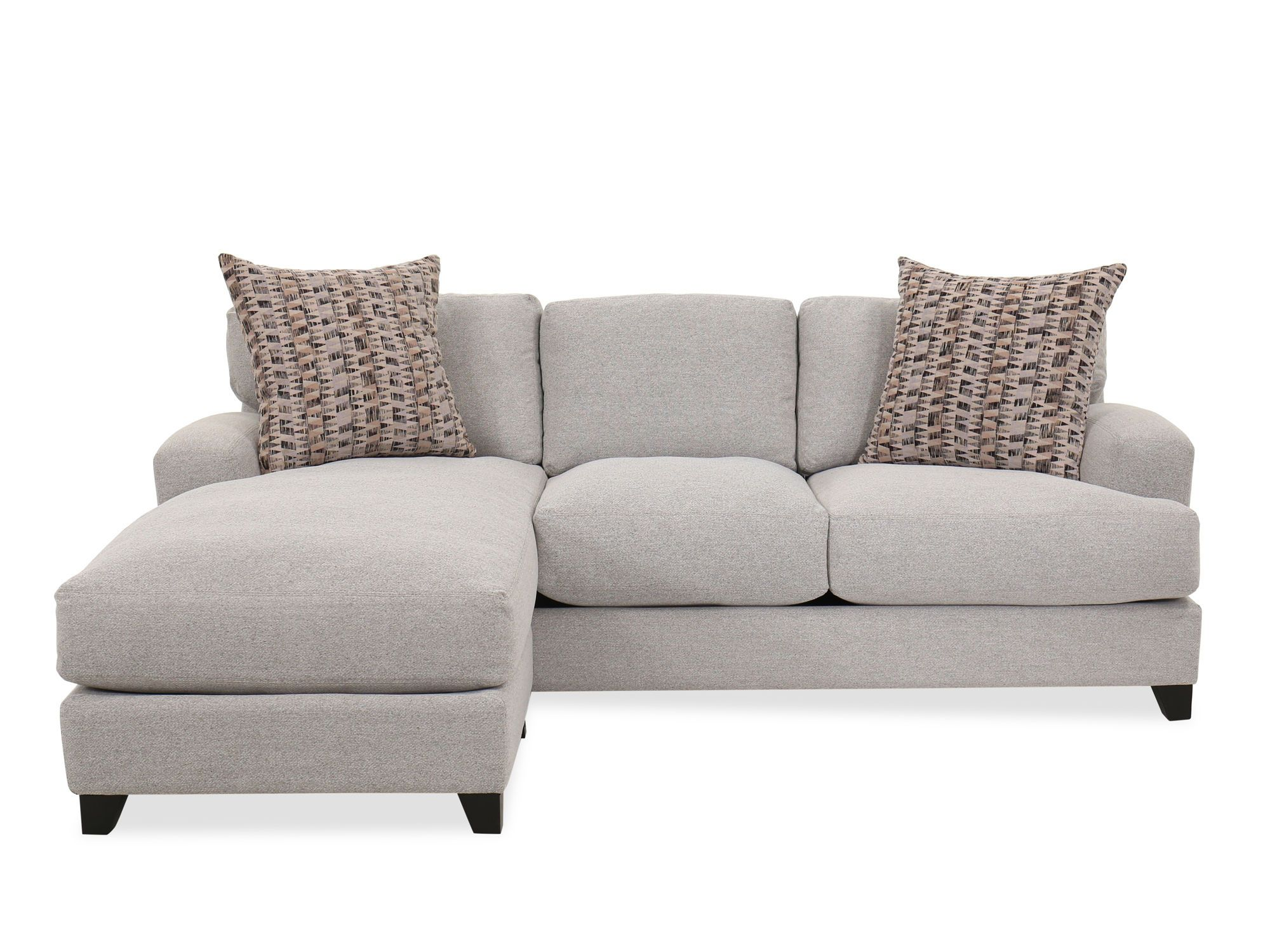 Best Casual Two Piece Sectional In Gray Sofa Inspiration 400 x 300