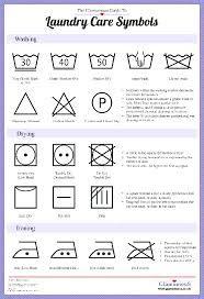 Image result for printable uk   OCD   Laundry symbols