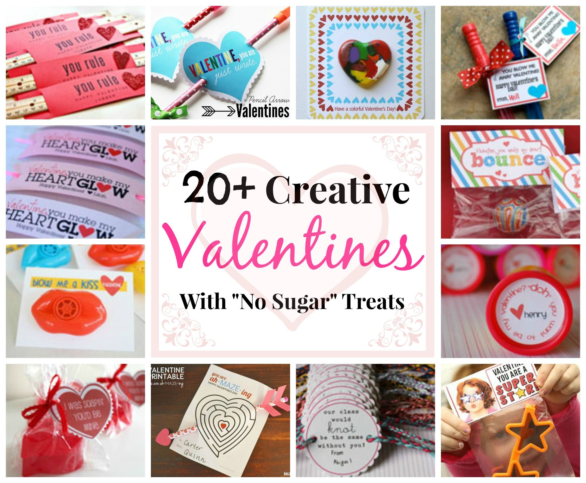 20+ Creative Ideas for DIY Homemade Valentines with \