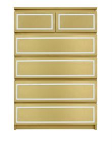 Picture of Rex O'verlays Kit for IKEA MALM (6 drawer chest)