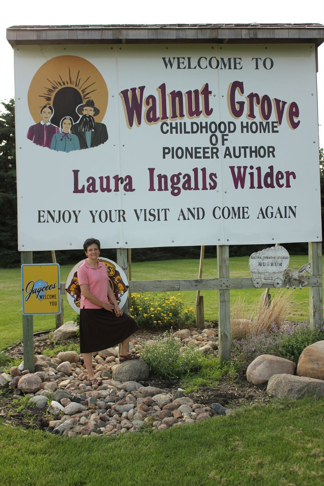 Walnut Grove, Mn  Laura Ingalls Wilder  Costumes Will Be Required