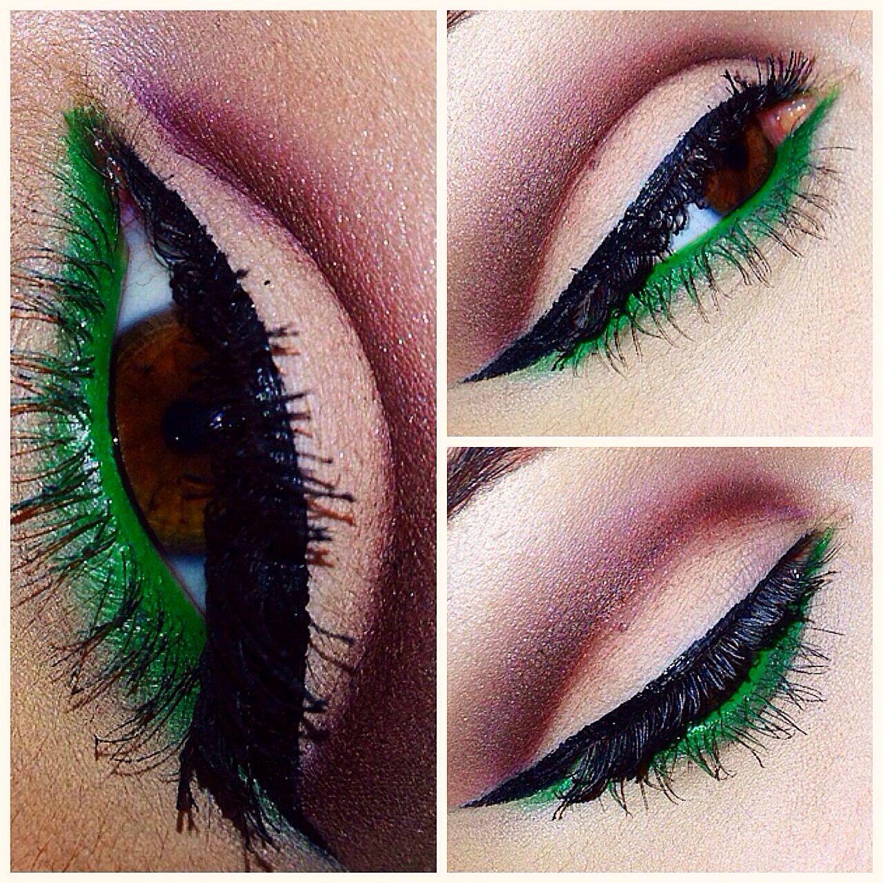 eye makeup, mac cosmetics, liquid eyeliner, winged liner