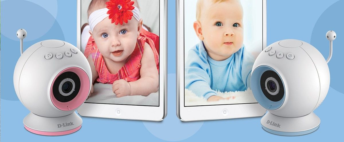 Stebėkite savo mažylį per DCS825L WiFi Baby kamerą. Ši