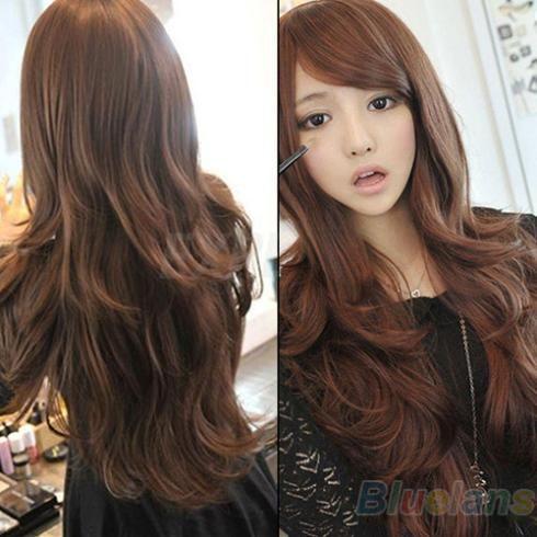 Cortes de cabello para pelo ondulado largo