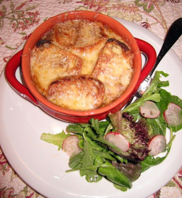 French Onion Soup. Perfect winter comfort!