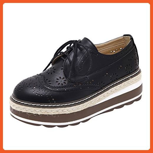 bf30d3bccc804 Dear Time Platform Creepers Lace-Up Wingtip Oxfords Brogue Shoes ...