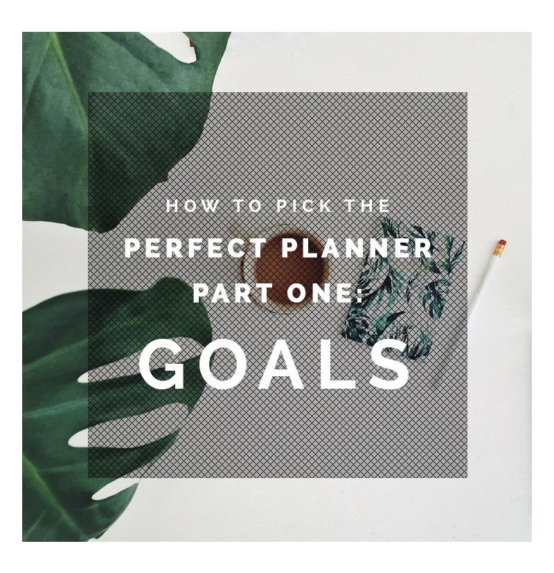 Как выбрать идеального планировщика 1: цели (+ бесплатные печатные издания)