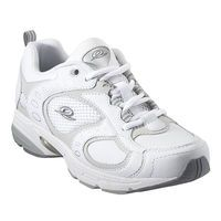 This walking shoe is made of superior leather and is good for fast-paced walking. It has a patented midsole cushioning system - our most advanced technology. It has a padded collar for support and comfort. Breathable footbed with gel cushioned inserts on the heel for superior insole comfort.  . Imported . Flat heel . Rubber Sole . Leather and Mesh Upper . Style Code: OUTROT