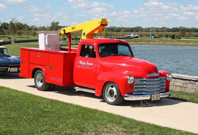 1951 Chevrolet Pickup Hot Rod Bucket Truck 2 Of 2 Trucks