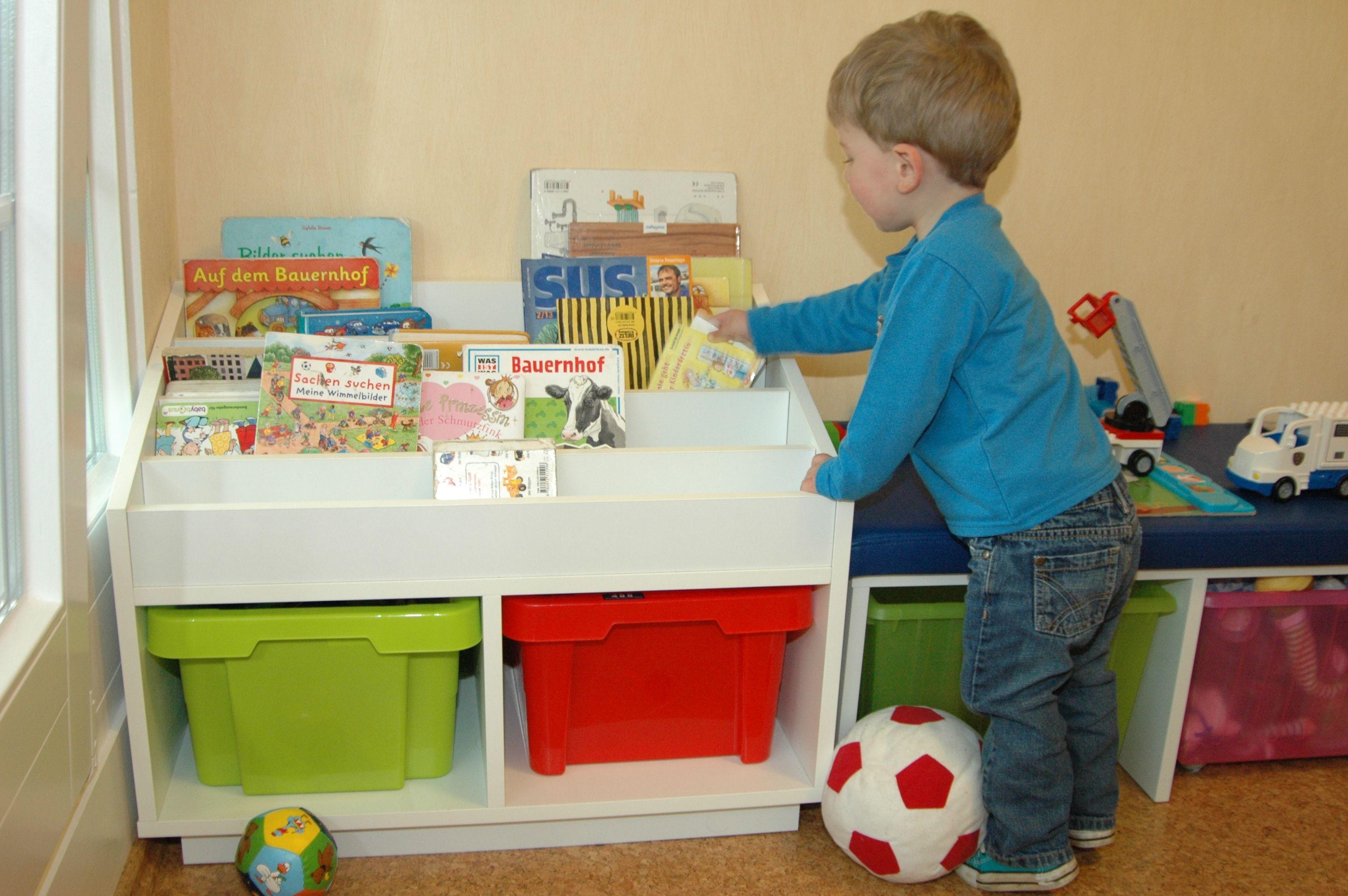 Kreatives fürs Kinderzimmer – das Bücherregal | Pinterest ...