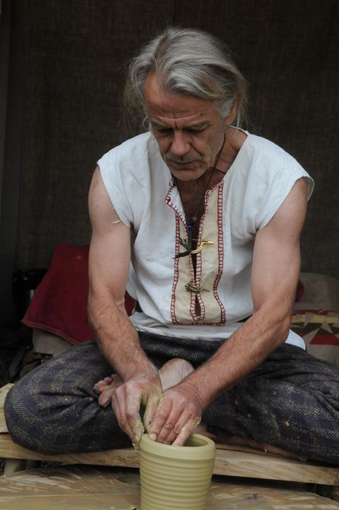 nsm120775 romeinse pottenbakker