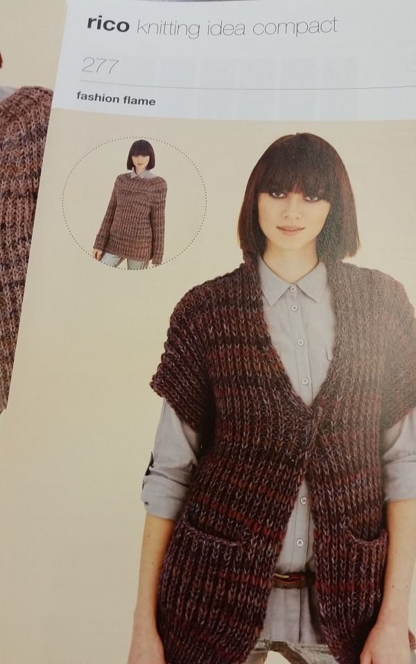 Rico Design Knitting Pattern 277 Rico Designs Yarn Pinterest