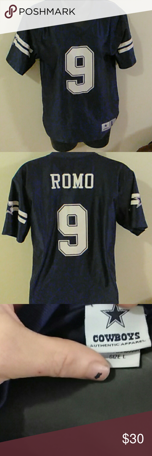 low priced 2ae69 e0af2 Tony Roma Jersey. Cowboys never worn New. No tags. It's a ...