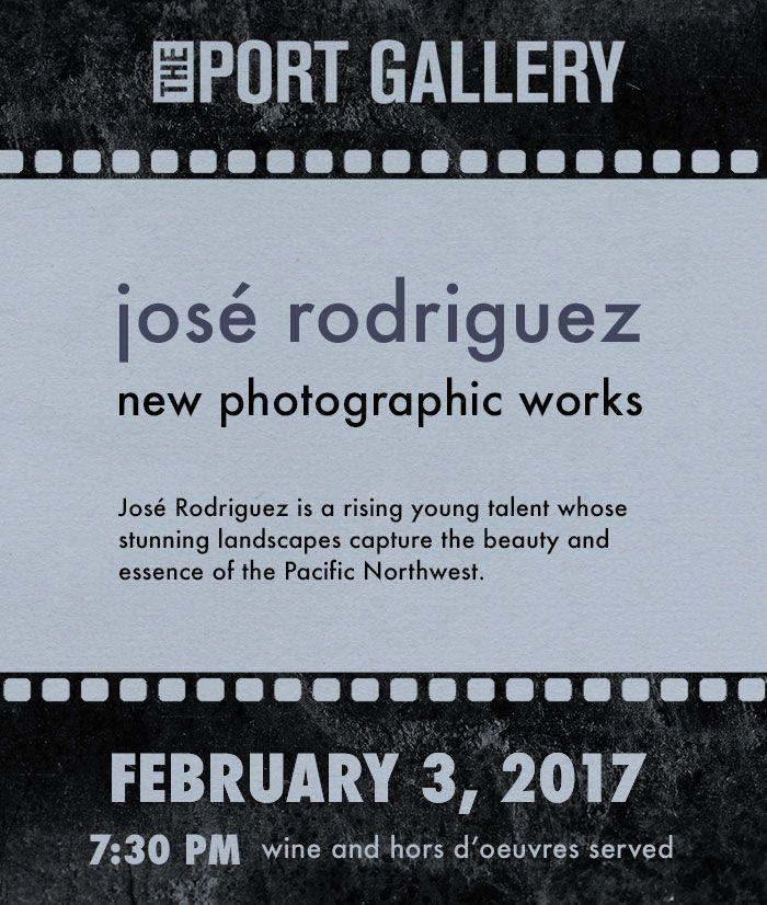 Josè Rodríguez annuncia l'apertura della sua mostra fotografica