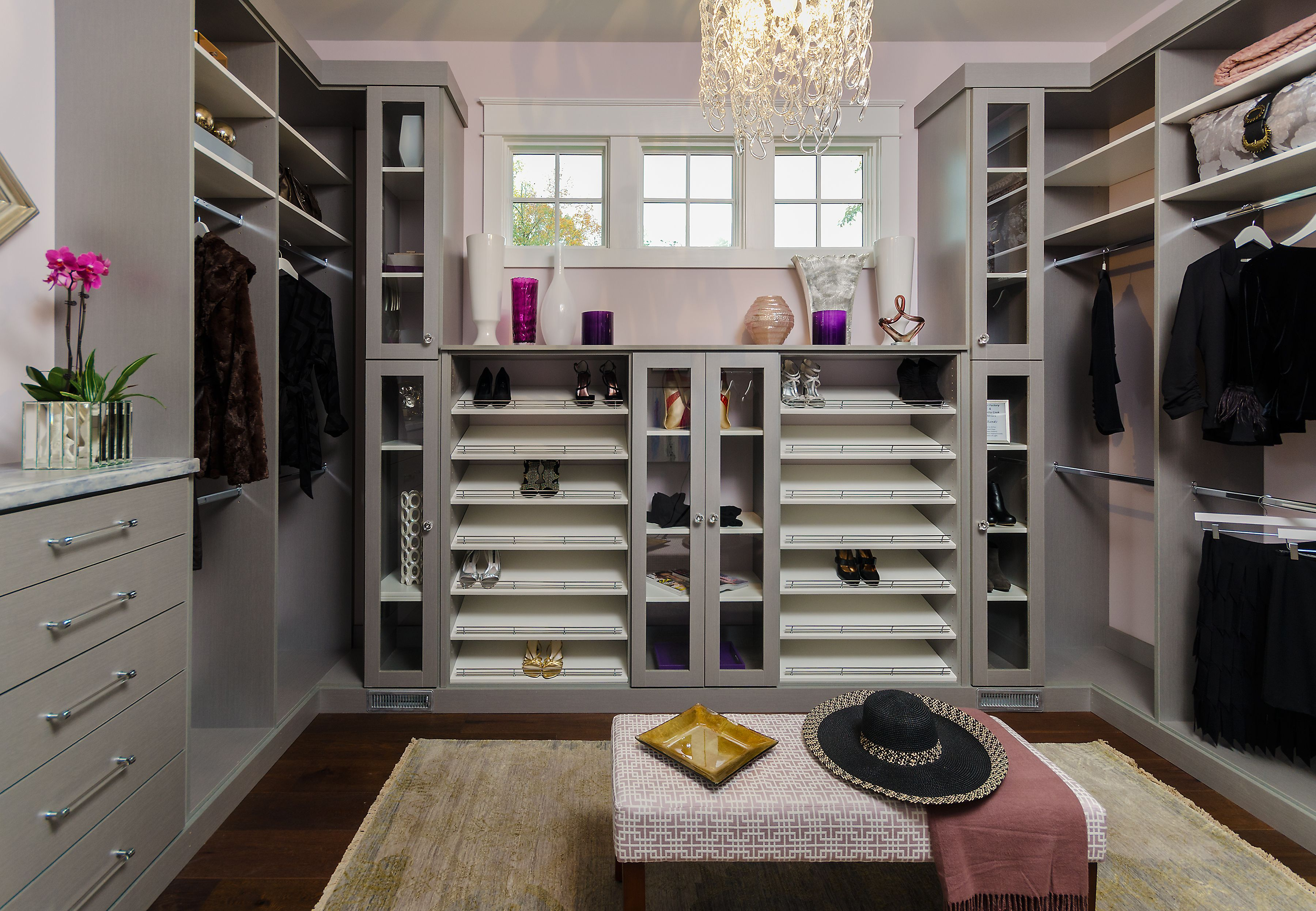 Designed By Closet Factory Richmond, Va., This Beautiful Master Closet  Simply Makes The