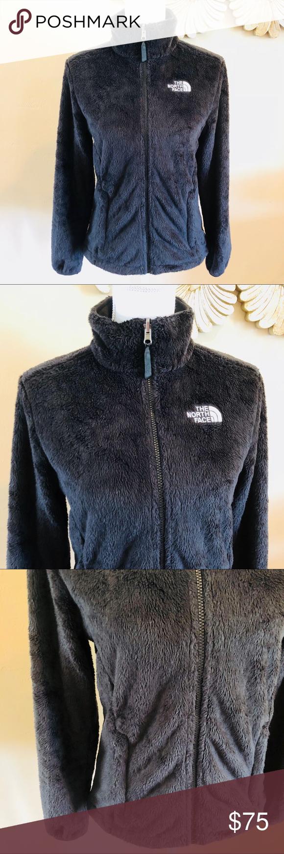 North Face Osito Black Fleece Jacket Black Fleece Jacket Zip Jacket Women Fleece Jacket [ 1740 x 580 Pixel ]