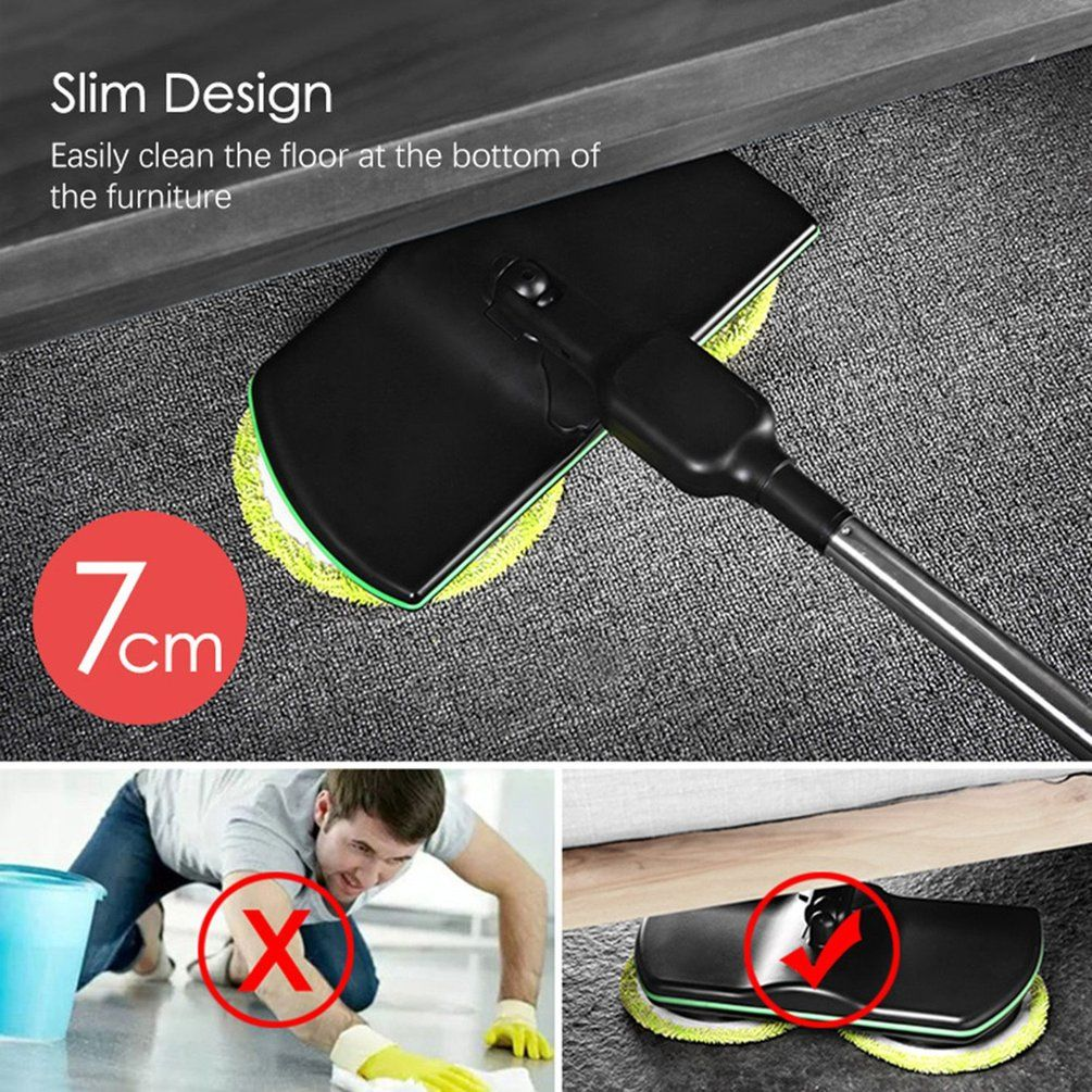 Cordless Rechargeable Electric Mop joohyk in 2020 Mops