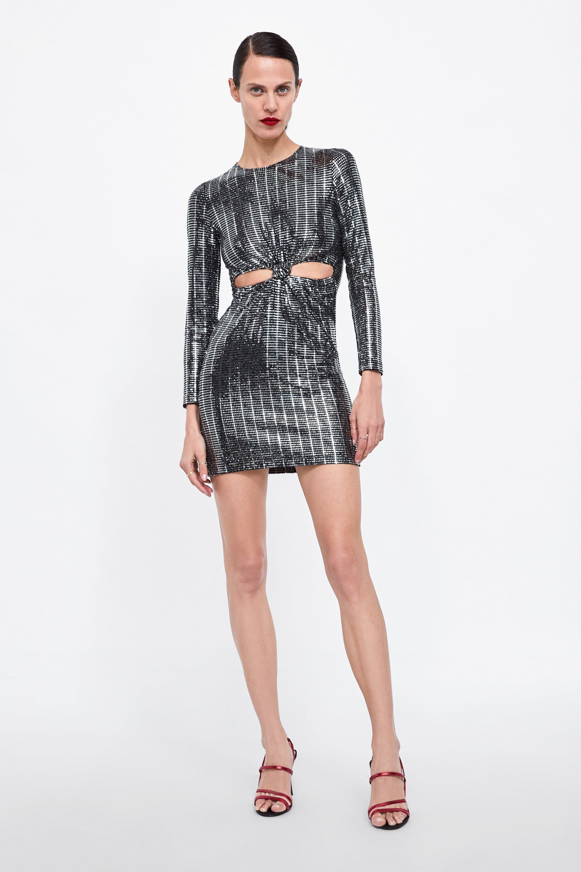 a9e0ef487a Image 1 of SEQUIN DRESS from Zara