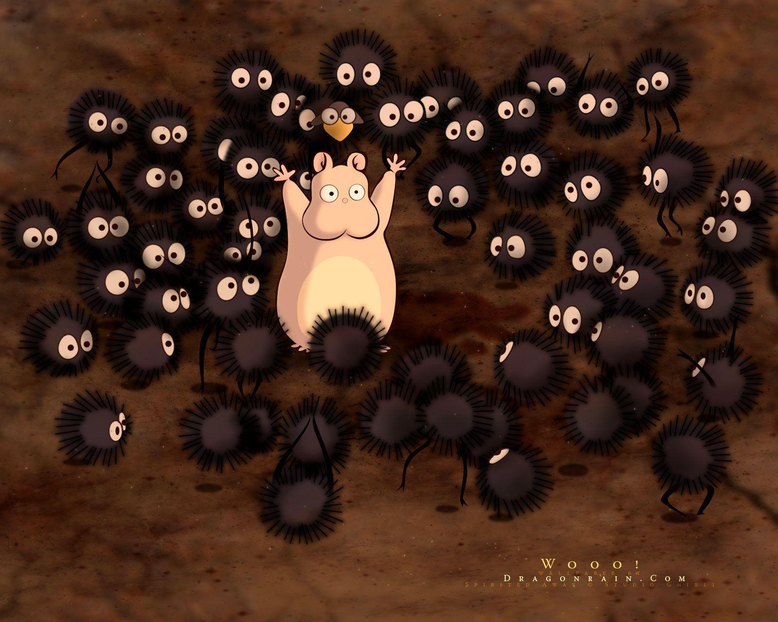 Bilder Chihiros Reise Ins Zauberland Away Spirited Hamster Ghibli Hayao Miyazaki 1600x1280 Hin Chihiros Reise Ins Zauberland Studio Ghibli Filme Miyazaki