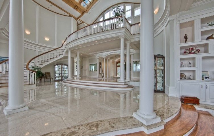 Luxury Mansions Interior | ... Sensation Of Being A Bit Cold. So This