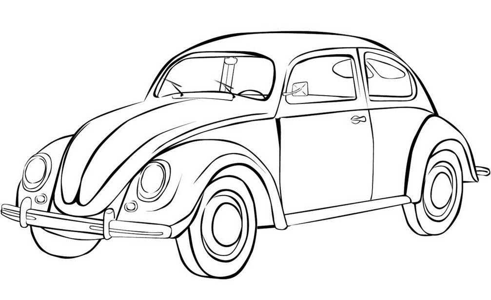 Raskraski Mashiny Besplatnye Kartinki Dlya Malchikov Iz Bumagi Svoimi Rukami Cars Coloring Pages Beetle Car Beetle Drawing