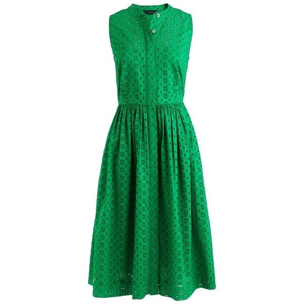 Women s J.crew Eyelet Lace Dress (3.570 RUB) ❤ liked on Polyvore featuring 0b870b5ed