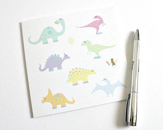Dinosaur Card Boyfriend Birthday Card Girlfriend Birthday Card