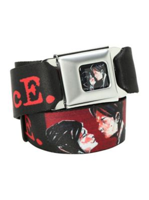 My Chemical Romance Rock Band Logo Seat Belt Buckles Down