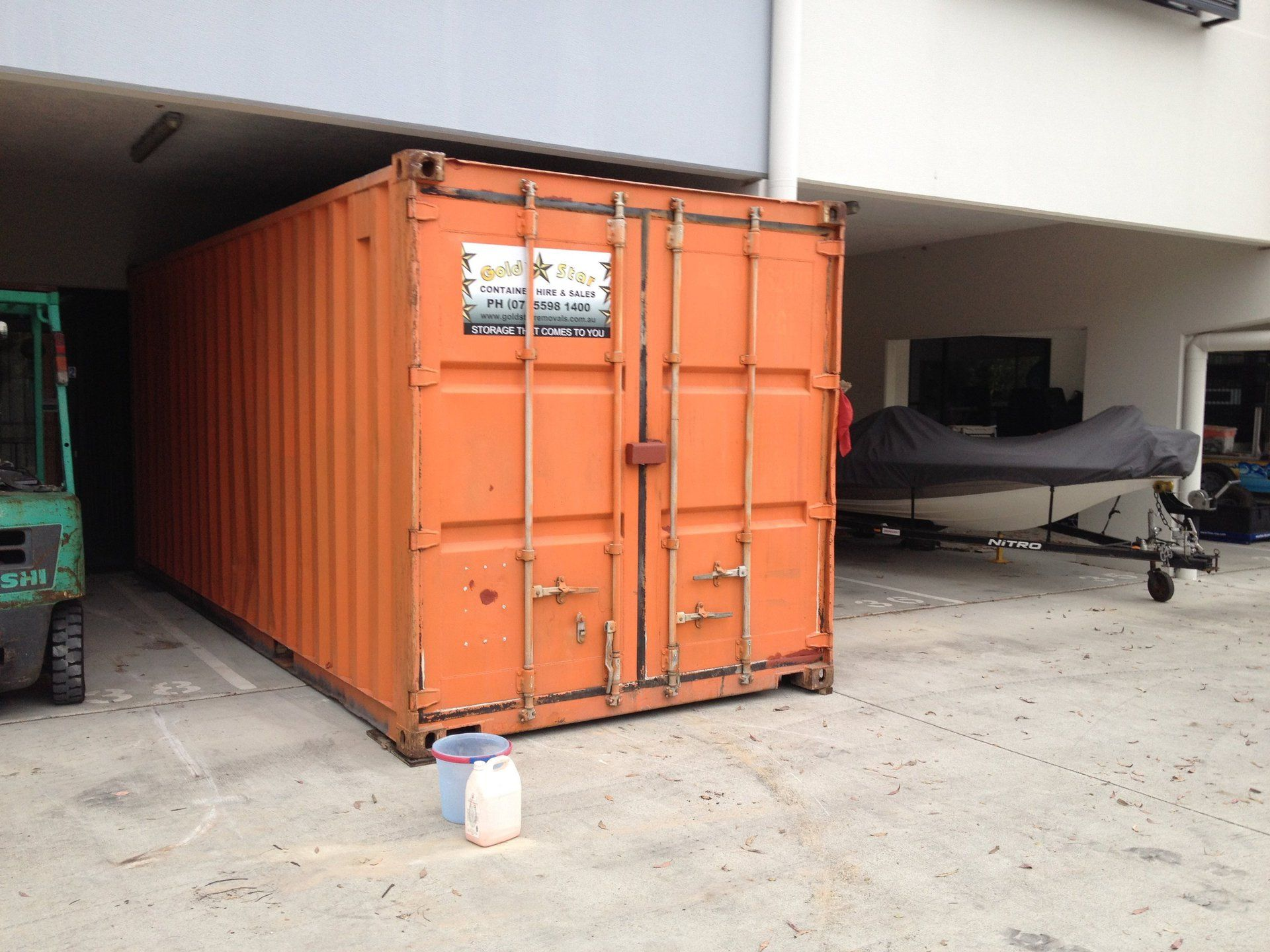 Gold Star Containers has cost effective and secure shipping