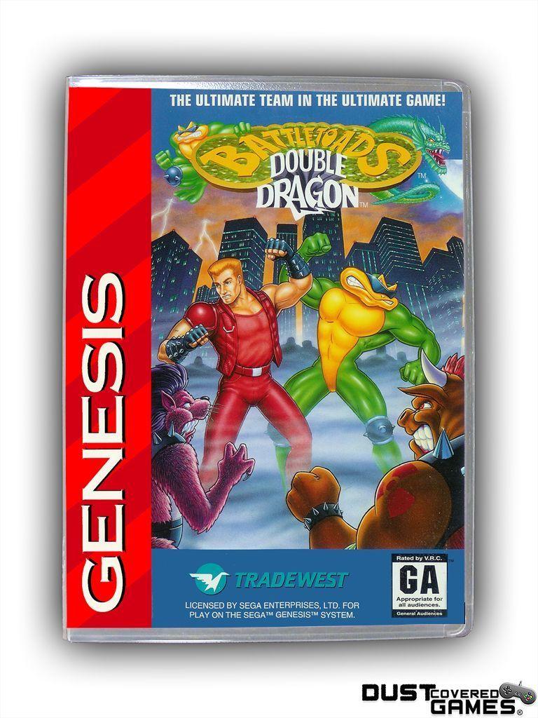 4 55 Battletoads Double Dragon The Ultimate Team Genesis Gen