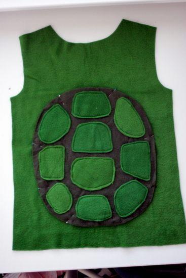 Diy ninja turtle costume cumple romeo pinterest turtle turtle diy ninja turtle costume solutioingenieria Gallery