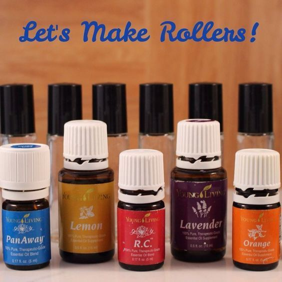 Roller Bottle Blend Recipes **These recipes are for a 5ml roller