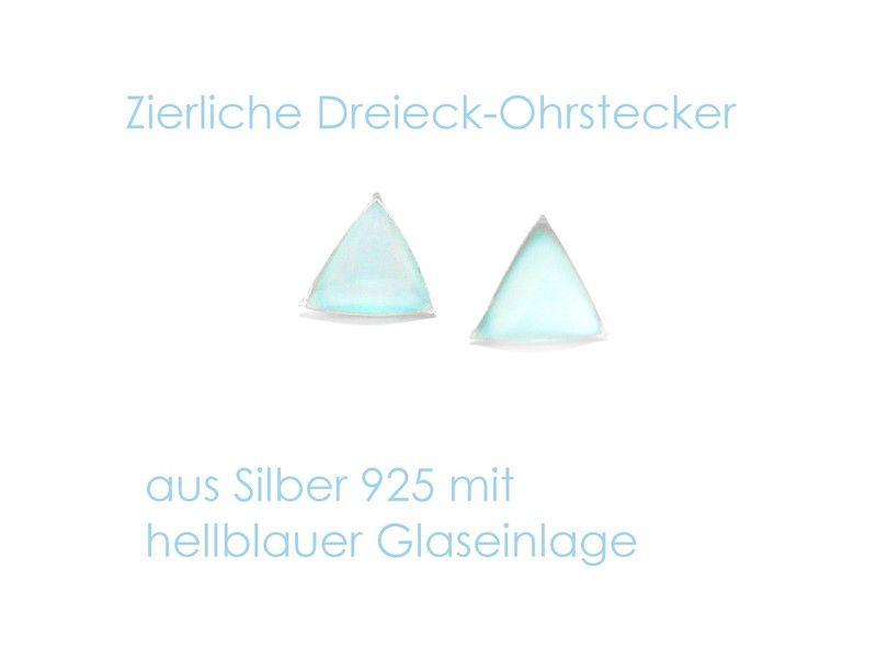 Ohrstecker+Dreieck+Perlmutt+von+DeineSchmuckFreundin+-+Schmuck+und+Accessoires+auf+DaWanda.com