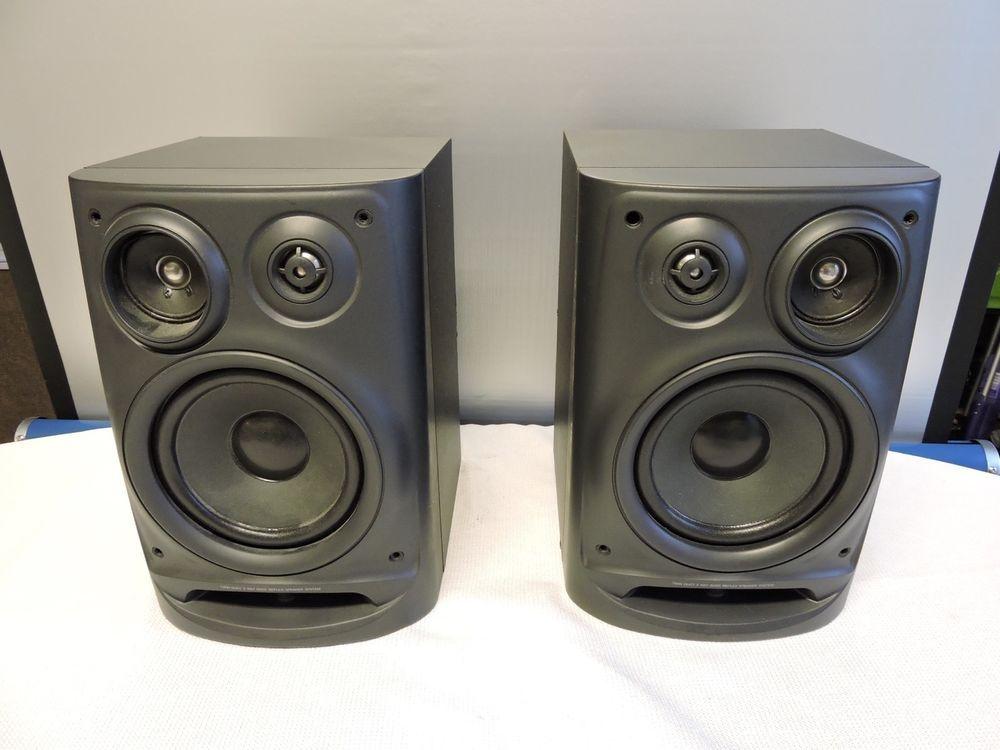 AIWA Model SX NV70 120W 6 Ohms Bookshelf Speakers Aiwa