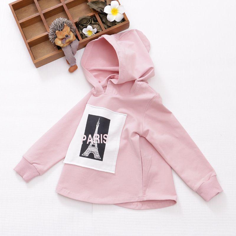 45c8ea444 2018 Girls Sweatshirts Printed Full Sleeve Girls Hoodies Spring ...