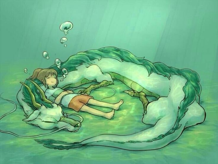 Préférence ⭐ Chihirø et HaKu ⭐ ~ Haku {Dragon légende Esprit de la Rivière  HV72
