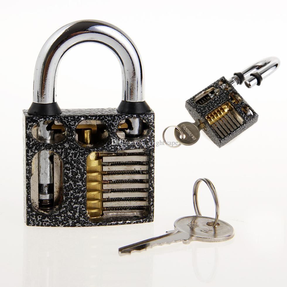 New Padlock Practice Lock W Keys Padlock With Key Padlock Shims Quick Open Practice Locks Set Of Keys Locksmith Tool Lock Pick Key Locksmith Lock Set Padlock