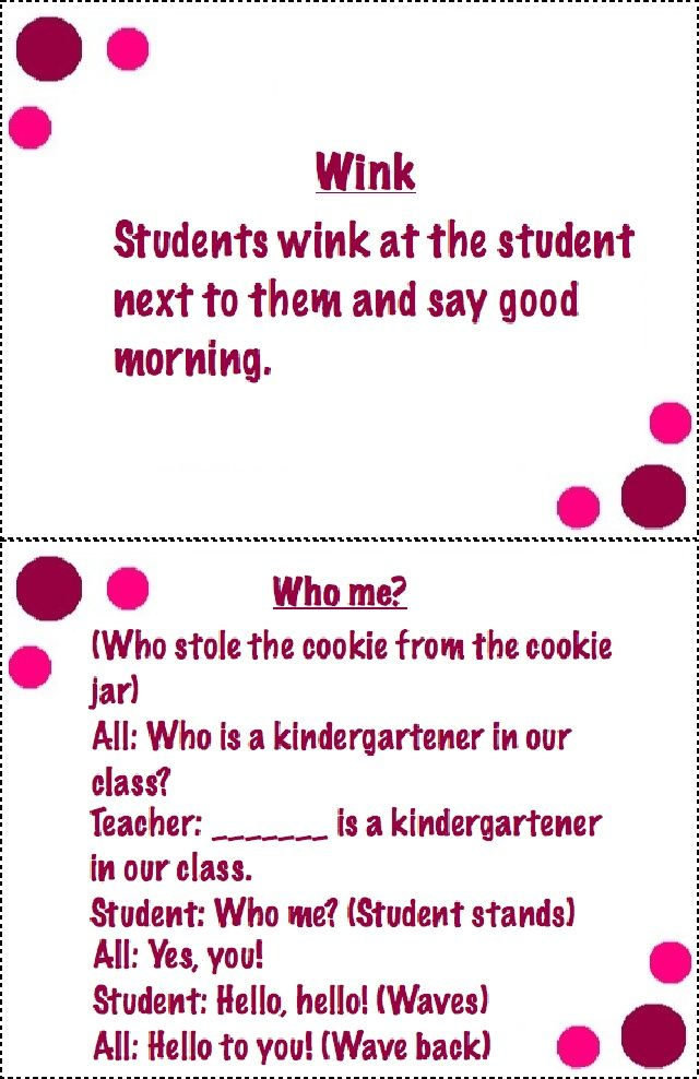 Classroom Greeting Ideas ~ Morning meeting greetings styled scribd classroom