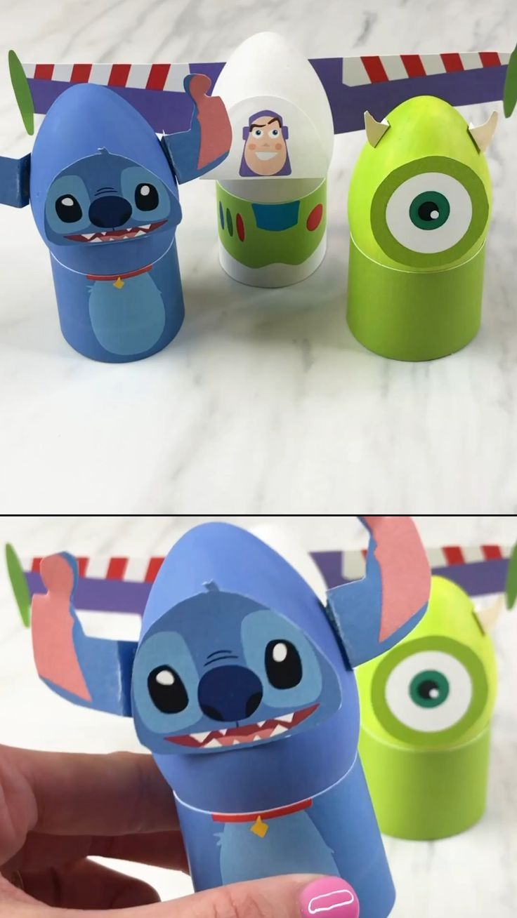 Disney Easter Egg Decorating Ideas  Kids will have