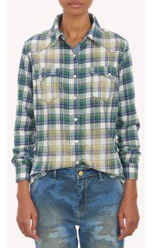 8dac862f Chip Foster Plaid Flannel Western Shirt | Plaids, Checks,Tweeds ...