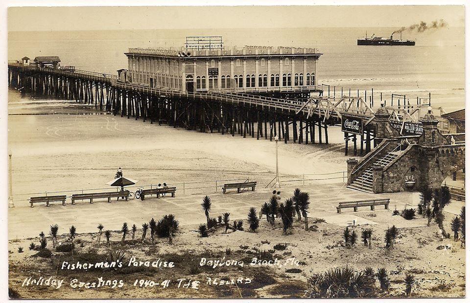 Daytona Beach Main Street Pier 1941