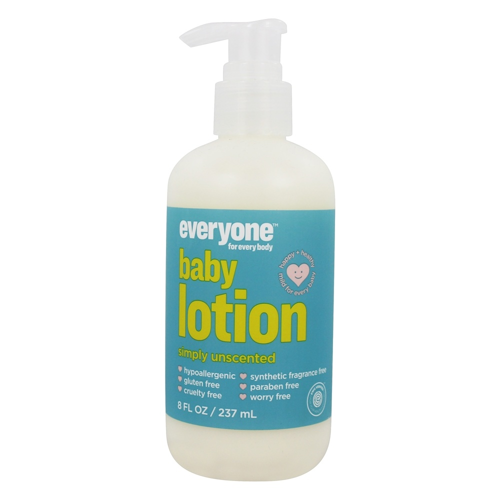 Everyone Baby Lotion Simply Unscented 8 Fl Oz Eo Products In