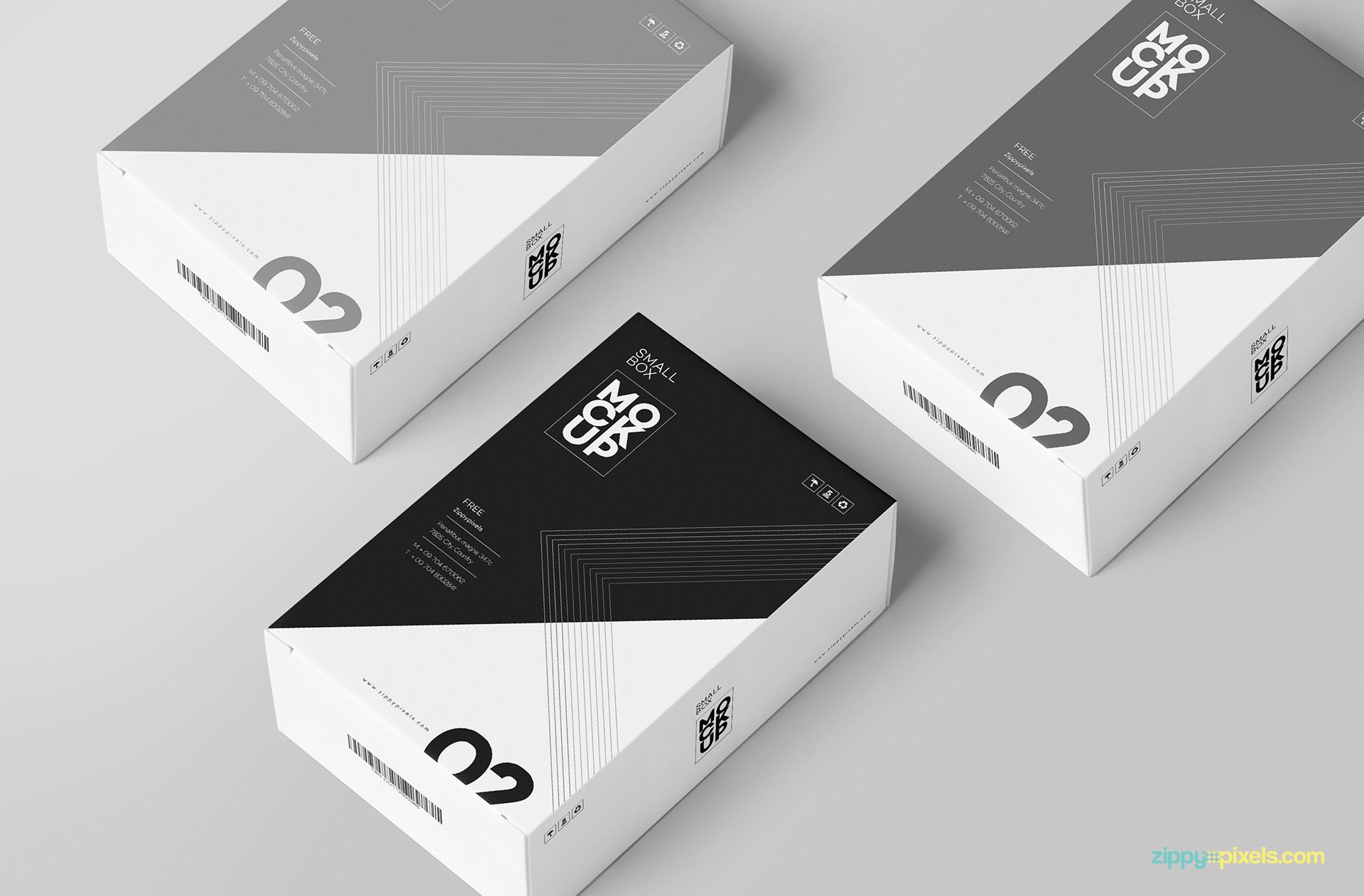 Download Free Customizable Card Box Mockup | Box mockup, Packaging ...